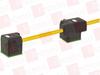 MURR ELEKTRONIK 7000-58101-0170750 ( MSUD DOUBLE VALVE PLUG FORM BI 11MM, PVC 4X0.75 YELLOW, 7.5M ) -Image