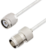TNC Male to TNC Female Cable Assembly using LC141TB Coax, 1.5 FT -- LCCA30086-FT1.5 -Image
