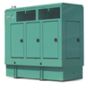 80KW 3Ph Diesel Genset 208V 60Hz Emissions Compliant with Start UP -- PG80F3DX6EC-S - Image