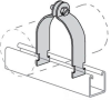 Channel Conduit/Cable Clamp -- PS 1100 4