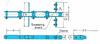 RF Conveyor Chains for FK Type Flow Conveyor for Grain -- RF08125-S -Image