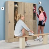 PENCO 1-Tier Lockers with Vanguard Handle -- 7801928