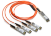 40GbE QSFP+ to 4x 10GbE SFP+ Breakout Active Optical Cable (AOC) -- AFBR-7IERxxZ
