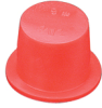 TV Series (Flexible Vinyl Tapered Caps & Plugs) -- TV-12