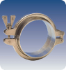 Stainless Steel Clamp for Hygienic Connections -Image