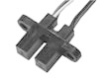 HOA698X/HOA699X Series IR Opaque Optoschmitt Sensor, Transistor Output, Single Mounting Tab, Detector Side, Plastic Package -- HOA6995-P55