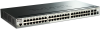 52-Port Gigabit Stackable SmartPro Switch including 2 SFP and 2 10GbE SFP+ ports -- DGS-1510-52
