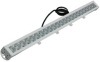 220 Watt LED Light - 19800 lumens - 9-48 Volts DC - Adjustable Surface Mount - Flood Beam -- LED10W-22R-F