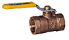 2-Piece, Standard Port, Brass Ball Valve -- WBV-3, WBVS-3