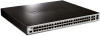48-Port Fast Ethernet Managed L2 Switch with 2 10/100/1000 ports and 2 Gigabit Combo BASE-T/SFP ports -- DES-3200-52P