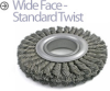 Knotted Wire Wheel Brush -- TW-10 - Image