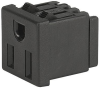 NEMA line Outlet 5-15R, Snap-in Mounting, Front Side, IDC- or Quick-connect Terminal -- 0710 -- View Larger Image