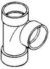ABS DWV Sanitary Tee (TY) -- 605279