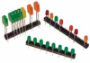 PCB Mount LEDs -- LED VBI/VBD Series Vertical Bar