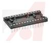 Socket, DIP;14Pins;500 Series Machined Contact;Closed;0.3In.;Beryllium Copper -- 70207018 - Image