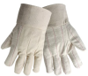 Global Glove Off-White Large Cotton/Fleece Hot Mill Glove - C18BT MENS -- C18BT MENS