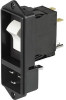 IEC Appliance Inlet C20 with Circuit Breaker TA45