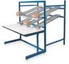 Ergo Flow Rack Wrkbnch,Blu,60Lx30Wx65InH -- POS6030P