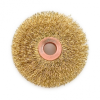 Industrial Brushes - Power Brushes - Copper Center Crimped Wire Wheel Brush -- 10105-Image