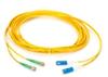 FC UPC/APC Single-Mode Fiber Optic Cable, FC/APC-SC, Duplex, 5-m (16.4-ft.) -- EFN6006-005M