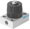 Precision one-way flow control valve