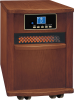 Walnut Cabinet Infrared Heater -- 8409575