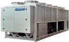 Multifunctional Air Cooled Unit with Hot Water Production -- Heva Energy