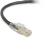 10FT Black CAT6A 650MHz Patch Cable F/UTP CM Locking Snagless -- C6APC80S-BK-10 - Image