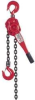 MILWAUKEE 3/4 Ton Lever Hoist 10 Ft -- Model# 9683-20