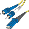 Corning 9/125 Single-mode ST-MTRJ Duplex Fiber Cable - Plenum-Rated -- 826-028-LLL - Image