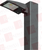 """RAB LIGHTING ALED3T78RG ( ALED78 TYPE III WITH 8"""" POLE MOUNTING ARM COOL LED RD GRAY ) -Image"""