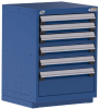 Heavy-Duty Stationary Cabinet , 6 Drawers (24