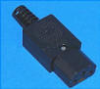 Straight Connector IEC 320-C13 -- AEL-WS - 002 - 4