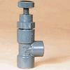PVC Angle Globe Valves -- 19279