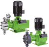 Hydraulic Piston Diaphragm Dosing Pumps -- DMH