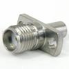 SMA Female (Jack) to SMP Male (plug) Full Detent 2 Hole Flange Adapter, 1.2 VSWR -- SM8843 - Image