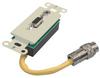 RapidRun® HD15 + 3.5mm Stereo Audio Wall Plate - Ivory -- 2212-42021-001 - Image