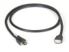 Locking HDMI to Standard HDMI Cable 2m (6.5ft.) -- VCL-HDMIS-002M