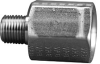 Fisnar 560727SS Stainless Steel Adapter 0.125 in NPT Male x 0.25 in NPT Female -- 560727SS -Image