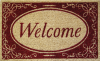 Welcome Red Border - 18