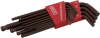 13 Pieces SAE Long Arm Ball S2 Hex Key Set -- 68913 - Image