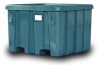 Plastic Container; Fixed Wall -- P-291