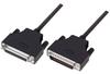 LSZH D-Sub Cable, DB25 Male / DB25 Female, 5.0 ft -- DSA00007-5F - Image