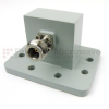 WR-159 to Type N Female Waveguide to Coax Adapter PDR58 Standard with 4.9 GHz to 7.05 GHz in Aluminum -- SMW159ACNG