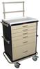 Classic Six Drawer Anesthesia Workstation Key Lock Spec.. -- 6451