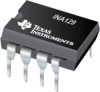 INA129 Precision, Low Power Instrumentation Amplifiers -- INA129P - Image