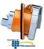 Leviton 125/250 AC 2P3W Wiring Watertight Pin and Sleeve.. -- 420R12W
