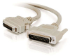 10ft IEEE-1284 DB25 Male to MicroCentronics 36 Male Parallel Printer Cable -- 2308-06096-010 - Image