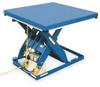 Hydraulic Scissor Lift,Electric,4000 Lb -- 2PLH6
