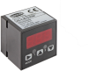 Vacuum/pressure switch in cube shape with display and digital output signals VS-V-W-D PNP M8-4 -- 10.06.02.00192